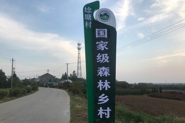 埝塘苗木国家级森林乡村